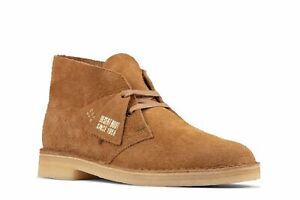 NEW! CLARKS ORIGINALS DESERT BOOT Men's Size 10 M Nutmeg Suede