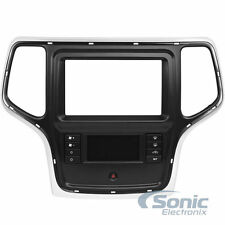 Scosche CR1309SB Single/Double DIN Car Install Dash Kit for Select 2014-Up Jeep