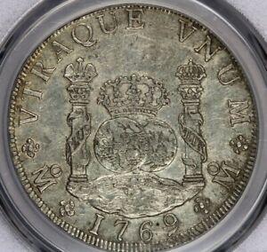 1769-Mo MF 8R 8 Reales Mexico Calico-909 PCGS AU50