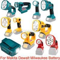 3W/12W Taschenlampe Für Makita Für Dewalt Für Milwaukee LED Lampe Arbeitsleuchte