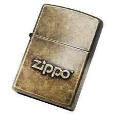 Zippo 28994 Zippo Stamp Anti Brass / Made in USA /South Korea Version /GENUINE