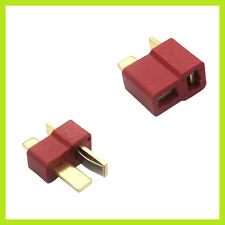 1 Paar DEAN Nylon Hochstrom T-Stecker Goldstecker T-Plug Connector (2 Stück)
