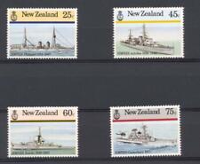 New Zealand 1985 SG 1379-82 Naval History Ships MNH