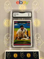 2006 Topps Derek Jeter #500 - 9 MINT GMA Graded Yankees Baseball Card