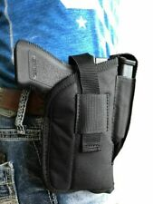 Nylon side holster for Dan Wesson TCP with laser or light attachment