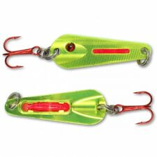 Northland Tackle Glo Shot Spoon Metallic Chartreuse GSS4-10 1/4 oz Ice Fishing