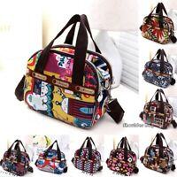 Women's Shoulder Bag Tote Messenger Cross Body Waterproof Satchel Nylon Handbag
