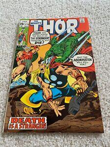 The Mighty Thor  178  VF  8.0  High Grade  Loki  Odin  Balder  Jane Foster