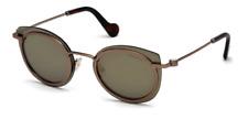 MONCLER Sunglasses ML 0017   Col. 36L  Shiny Dark Bronze / Roviex mirror new
