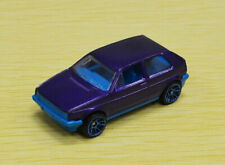 Hot Wheels Prototype Volkswagen Golf MK2 in Purple, Barbie interior, Rare VW