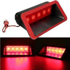 Universal 12V Car 5 LED Warning Rear Tail 3rd Third Brake Stop Light Lamp Red