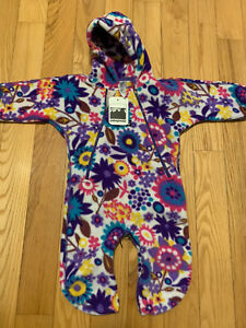 New With Tags Patagonia 3M Baby Fleece Bunting NICE