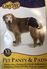 Pet Dog Panty Sanitary Pants Underwear Short Denim Pet Pads Panties XL