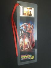 BACK TO THE FUTURE 3 Movie Film Cell Bookmark - complements movie dvd poster