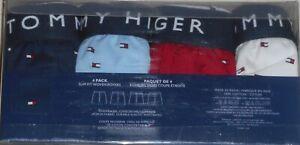 TOMMY HILFIGER Cotton Slim Fit Woven Print Boxers 4 pack - Medium (32-34)