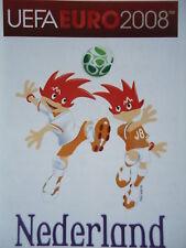 Panini 254 Logo Nederland Niederlande UEFA Euro 2008 Austria - Switzerland
