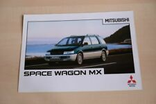 208335) Mitsubishi Space Wagon MX Prospekt 03/1996