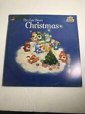 """THE CARE BEARS CHRISTMAS"" Kid Stuff Vinyl 12"" LP-33 Album EX Stereo 1983"