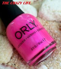 AUTHENTIC ORLY NAIL LACQUER NAIL POLISH net wt: 18 ml-THE CRAZY LIFE