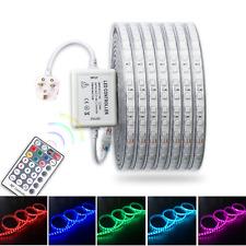 LED RGB Strip 220V 240V 60 LED/m 5050 Wireless IP67 Waterproof Indoor Outdoor UK