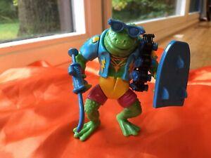 Playmates Genghis Frog Action Figure Tmnt Teenage Mutant Ninja Turtles Complete