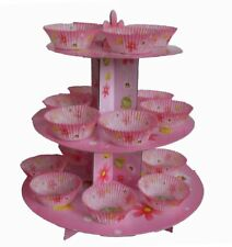 CLUB GREEN Cake Stand Kit For Girl, Pink
