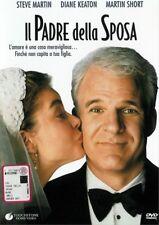 IL PADRE DELLA SPOSA - DVD Steve Martin 1991 film in ITALIANO - Diane Keaton
