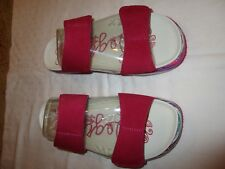 Alegria Mixie MIX-291 sandals sz 39 canvas pink fuchsia NWOB New Fuchsia Party