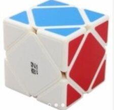 QiYi QiCheng Skewb Rubik's Cube Puzzle QY176 White