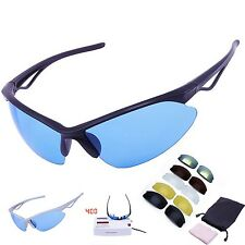 Tactical Goggles Cycling Airsoft Glasses Eyewear Sport Sunglasses 6 Uv400 Lenses