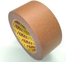 50mm x 50m Paper Packaging Tape, Eco Kraft Tape, Brown Kraft Packaging Tape