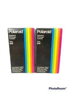 Lot of 2 Polaroid Polavision Phototape Cassette Type Film 618 NOS Sealed Dec '84
