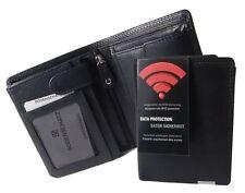 Bodenschatz Herren Geldbörse Herrenbörse RFID Brieftasche Portemonnaie Leder HF