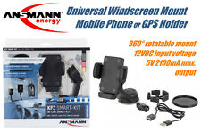 Ansmann Universal Windscreen Mount Mobile Phone / GPS Holder