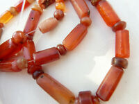 Ancient carnelian agate beads, Carnelian Necklace , African Trade, Trade Routes