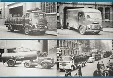 4 Truck Lorry Postcards - Brewery: Ansells & Scottish - Billingham Motor Cards