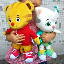 2pcs Tiger's Neighborhood Daniel Tiger Katerina Kitten Cat Plush doll 12""