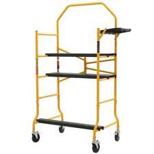MetalTech Scaffolding Set 5 ft. x 4 ft. x 2-1/2 ft. Metal 900 lbs. Load Capacity