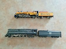 HO Scale 2 Working Locomotives with Tender