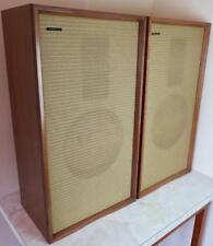 MORDAUNT STEREO SPEAKERS WITH STANLY KELLY RIBBON TWEETERS - FULLY OPERATIONAL