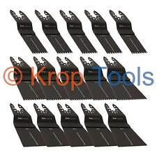 15 Multi Tool Blades Black & Decker DeWalt Triple Set-3f Wood by KROP