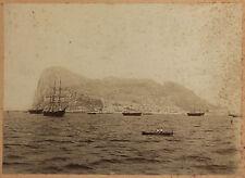 Gibraltar UK Vintage albumine, ca 1890