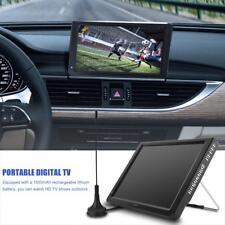 12 pouces Portable TFT-LED Numérique TV Player Télévision Analogique DVB-T-T2 EU