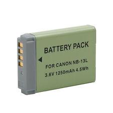 NB-13L NB13L 3.6V 1250mAh Battery For Canon G7X G7 X PM1 Camera