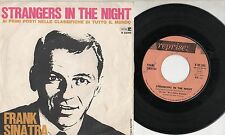 FRANK SINATRA disco 45i MADE in ITALY Strangers in the night + Oh you crazy moon