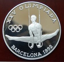 "Andorra: 20 Diners ""Olympiade Barcelona 1992"" 1988 - PP/Ag. !!"
