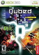 Qubed Xbox 360 Rez HD lumines Brand new