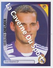 N°342 SNEIJDER # NETHERLANDS REAL MADRID STICKER PANINI CHAMPIONS LEAGUE 2008