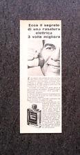 L780- Advertising Pubblicità - 1957 - WILLIAMS LECTRIC SHAVE