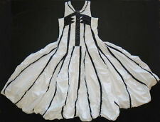 JOTTUM Euro girl special occasion SURPRISE dress navy white 140 134 128 7 8 9